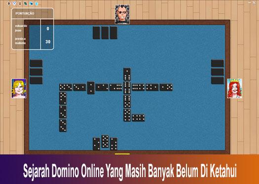 Sejarah Domino Online Yang Masih Banyak Belum Di Ketahui